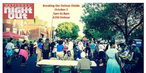 National Night Out --Breaking the Delmar Divide