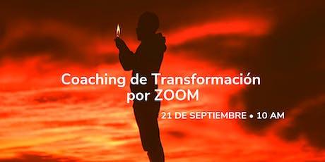 Coaching de Transformación VIRTUAL Septiembre: ABRIR LOS OJOS tickets