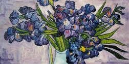 Paint Flowers like Van Gogh with Michelle Reid with Oil Paint