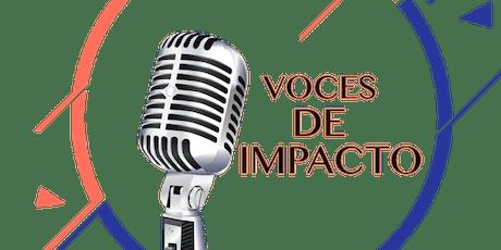 VOCES DE IMPACTO entradas