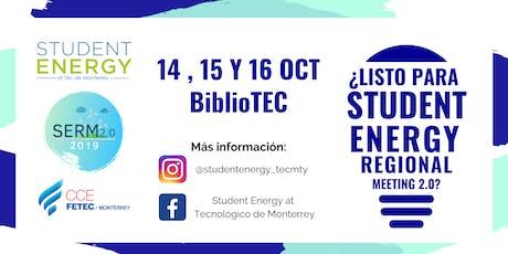 STUDENT ENERGY REGIONAL MEETING (SERM 2.0) entradas