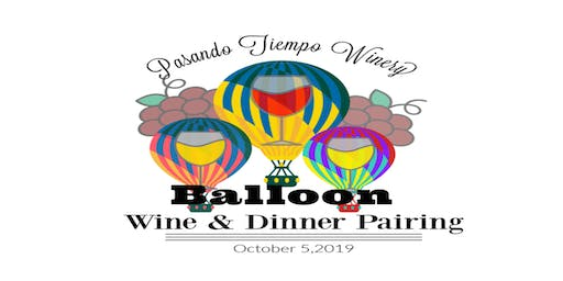 Balloon Fiesta Wine & Dinner Pairing