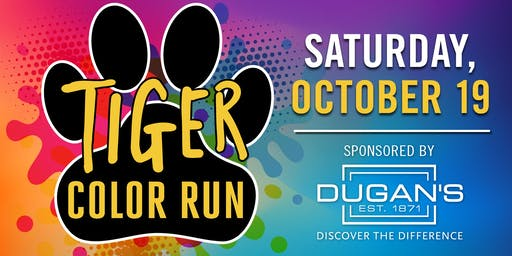 Tiger Color Run hosted by Horace Mann Elementary PTA