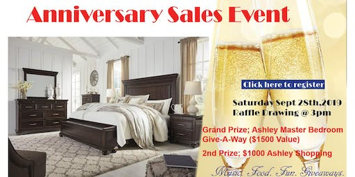 Anniversary Giveaway - Sales Event