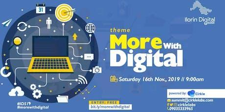 Ilorin Digital Summit 2019 tickets