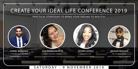 Create Your Ideal Life Conference 2019 tickets