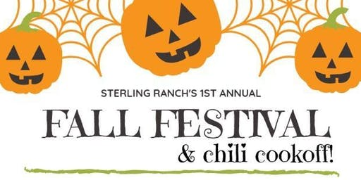 Sterling Ranch's 1st Annual Chili Cookoff Team Registration
