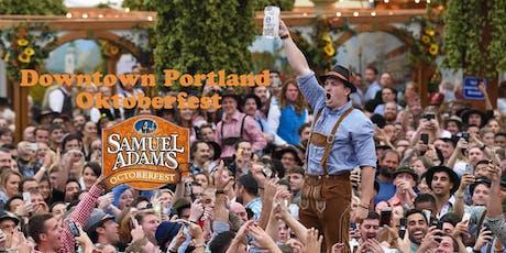 Downtown Portland Oktoberfest Sponsored by Sam Adams tickets