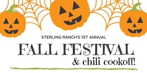 Sterling Ranch's 1st Annual Fall Festival & Chili Cookoff