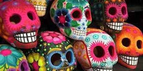 Paint Party Fundraiser - Ceramic Skulls! tickets
