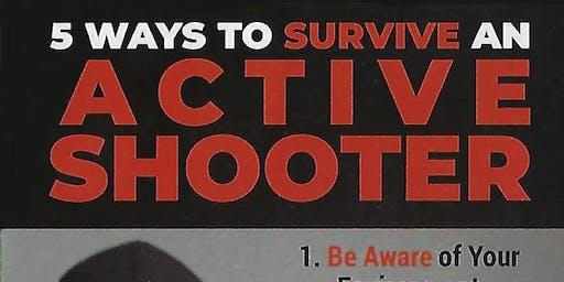 Active Shooter Defense Seminar 11AM/ Kids Stranger Danger Seminar 9AM