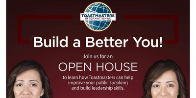 Transformers Toastmasters Club OPEN HOUSE