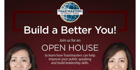 Transformers Toastmasters Club OPEN HOUSE tickets