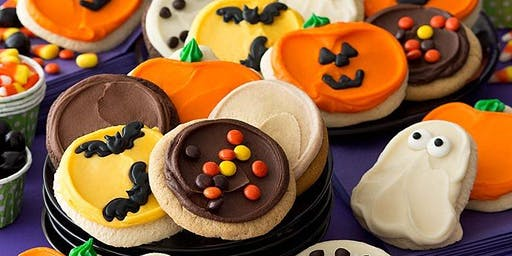 Halloween Sugar Cookie Decorating with Buttercream