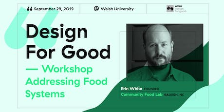 Design For Good tickets
