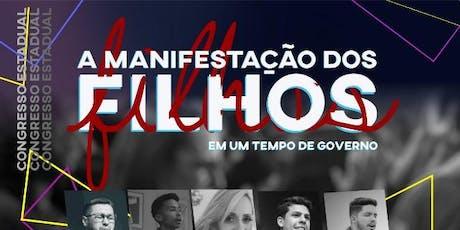 CONGRESSO ESTADUAL DE FILHOS DE PASTORES ingressos