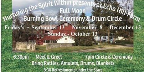 Full Moon Drum Circle & Burning Bowl Ceremony tickets