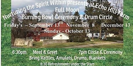 Full Moon Drum Circle & Burning Bowl Ceremony tickets