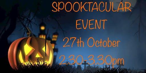 Spooktacular mess event