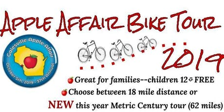 Galesville Apple Affair Bike Tour 2019 tickets