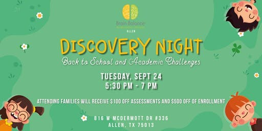 Discovery Night :Back to School and Academic Challenges