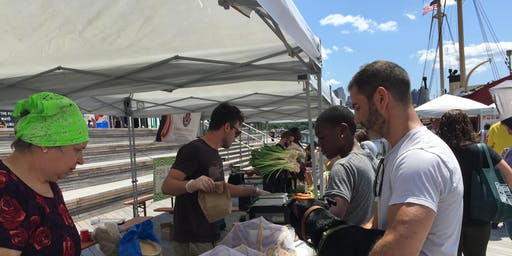 Sunday Farmers Market & Ghost Funk Orchestra on Pier 17!