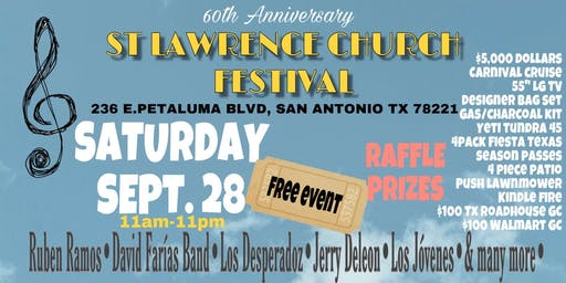 FREE EVENT ST. LAWRENCE CHURCH FESTIVAL