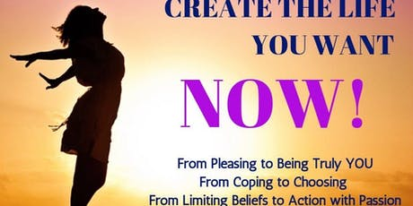 The Power of YOU, create the life you want! tickets