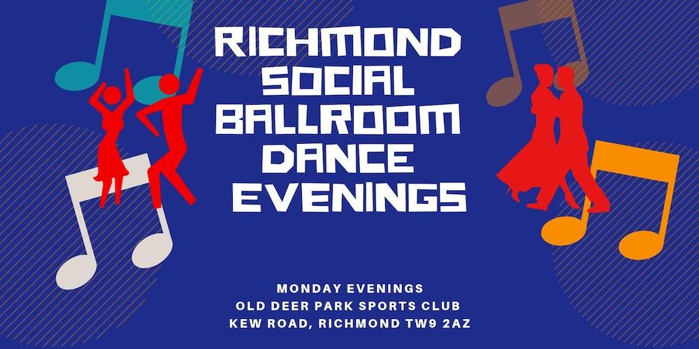 Richmond Social Ballroom Dance Evenings Tickets, Multiple