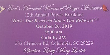 12th Annual Prayer Breakfast tickets