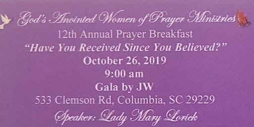 12th Annual Prayer Breakfast