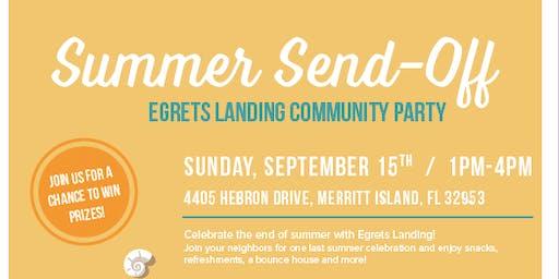 Summer Send Off Egrets Landing Community Party