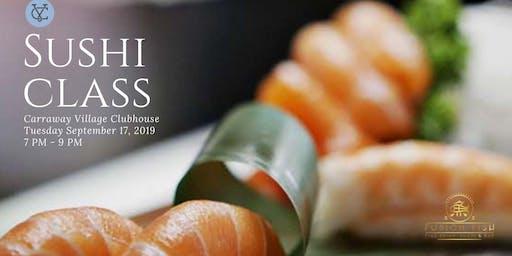 Sushi Making Class by Fusion Fish at Carraway Village