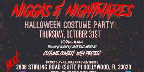"""Niggas and Nightmares"" Halloween Costume Party tickets"