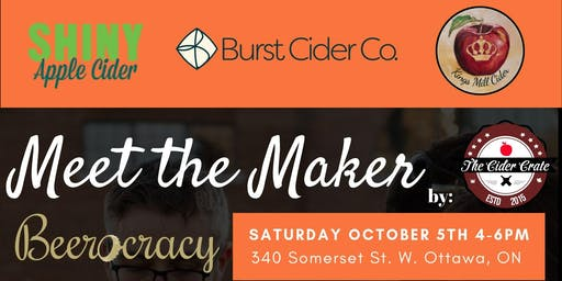 Meet The Maker (Burst Cider) @Beerocracy with Shiny/Kings Mill