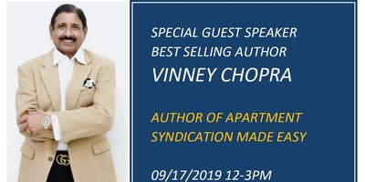 An Afternoon with Best Selling Author Vinney Chopra and Solomon Niazi