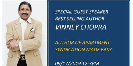 An Afternoon with Best Selling Author Vinney Chopra and Solomon Niazi tickets