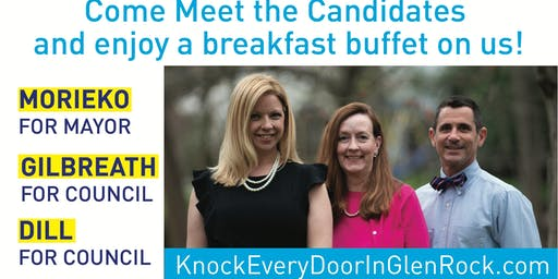 Volunteer at the Senior Breakfast (Knock Every Door Campaign)