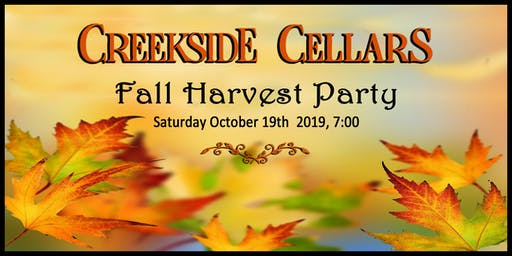 Creekside Cellars Fall Harvest Party