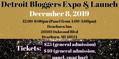 Detroit Bloggers Expo & Launch