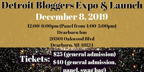Detroit Bloggers Expo & Launch tickets