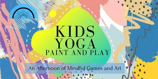 Kids Yoga Paint and Play