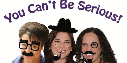 AOK Cabaret presents: You Can't Be Serious