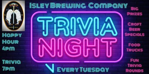 Isley Brewing Company Trivia Night