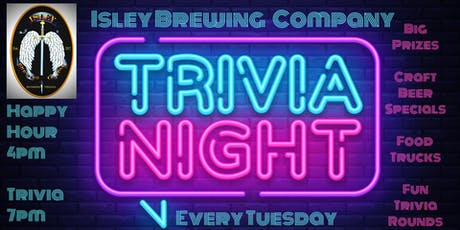 Isley Brewing Company Trivia Night tickets