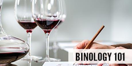 Binology 101: Basics of Wine Tasting tickets