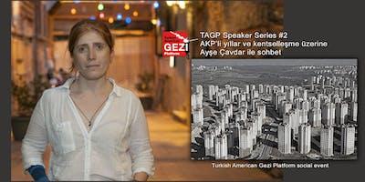 Speaker Series #2 — Ayşe Çavdar