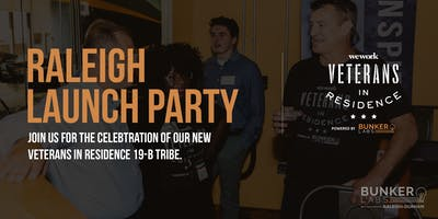 Raleigh Launch Party: Veterans in Residence powered by Bunker Labs
