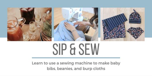Sip and Sew:  Adult sewing workshop