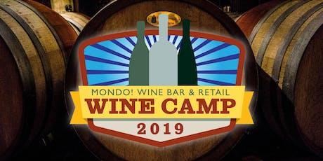 Wine Camp 6 - Closure tickets